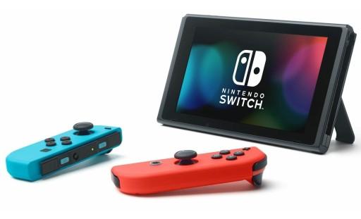 Konsola Nintendo Switch 32 GB czerwono-niebieska