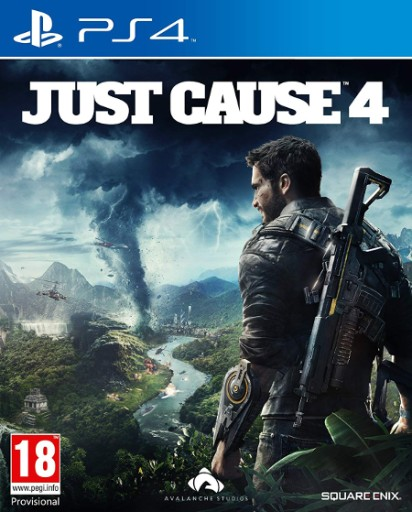 Just Cause 4 PS4 Nowa Folia