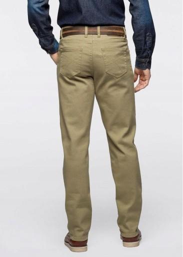 Spodnie męskie casual khaki bonprix 48 9903889186 Odzież Męska Spodnie CY UEIRCY-6