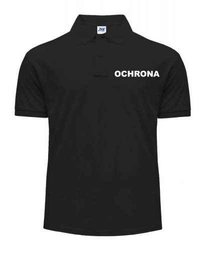 ORYGINALNA koszulka POLO polÓwka LOGO OCHRONA XXXL 10468262809 Odzież Męska Koszulki polo RQ GBXPRQ-5