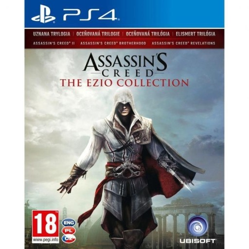 ASSASSIN'S CREED THE EZIO COLLECTION PL PS4 NOWA