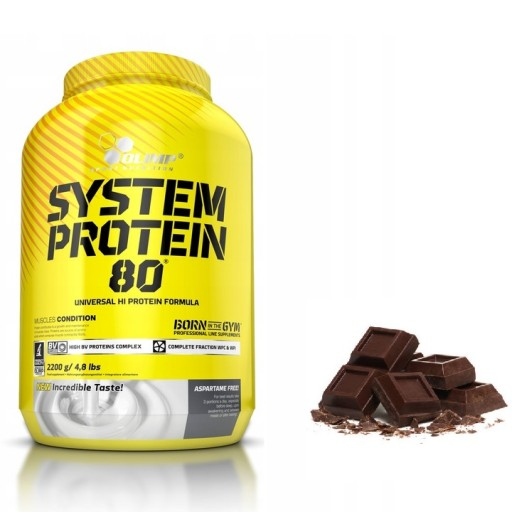 Olimp System Protein 80 2200g Bialko Witaminy 7835657542 Allegro Pl