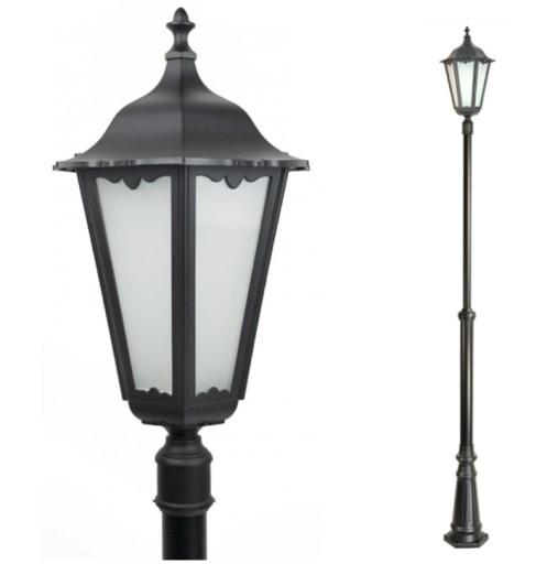 Lampa ogrodowa retro 190 290 lampy wzór Max