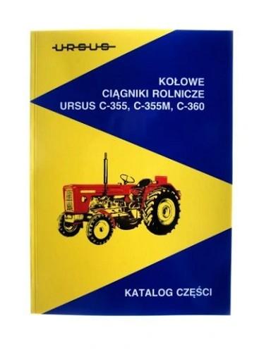 Katalog Czesci Do Ursus C 360 C 355 C 355m Klobuck Allegro Pl