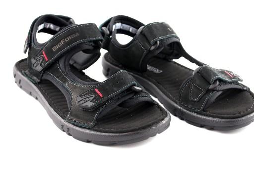 NIK 0351 sandały męskie czarne Giatoma Niccoli 45 8107771419