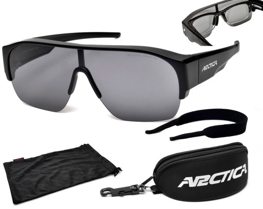 Okulary przeciwsłoneczne S 313: na okulary korekcyjne