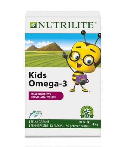 Nowosc Amway Nutrilite Kids Omega 3 Zelki 8694574704 Allegro Pl