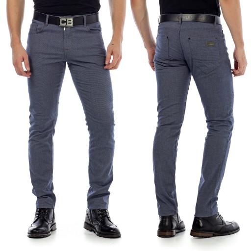 Spodnie Męskie Cipo Baxx Klasyczne Elegance