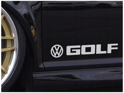 2 Naklejki Vw Naklejka Golf Passat Vr6 R32 Gti Wroclaw Allegro Pl