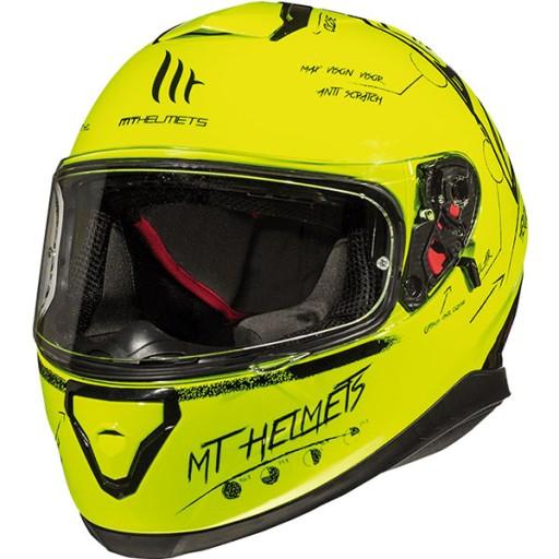 Kask Mt Helmets Thunder 3 Sv Board Fluo Blenda L Grojec Allegro Pl