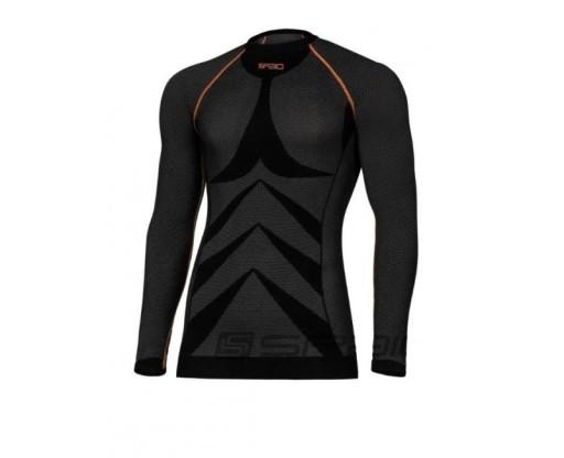 SPAIO Koszulka termoaktywna męska motocyklowa L
