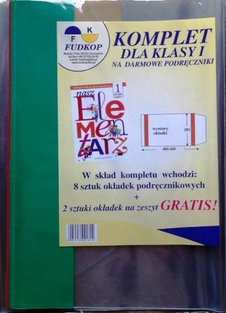 Zestaw Okladek Na Podreczniki Do Klasy 1 Lub 3 6936187339 Allegro Pl