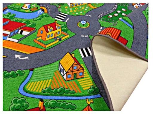 Dywan Dziecięcy Ulice Drogi Miasto Farma 200x250