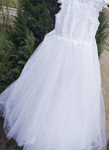 Sukienka Komunijna 7946617129 Allegro Pl