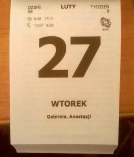 Kartka Z Kalendarza 1990 1996 2001 2007 2012 2018 1 50 Zl Allegro Pl Raty 0 Darmowa Dostawa Ze Smart Wojnicz Stan Nowy Id Oferty 8886652596