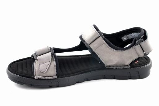NIK 0351 sandały męskie szary Giatoma Niccoli R.42 8056160827 Obuwie Męskie Męskie ZF JQYGZF-3