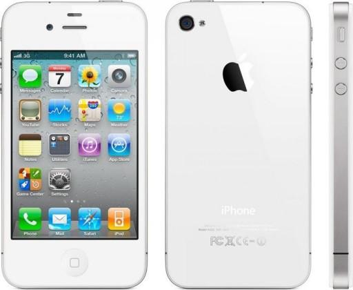 Apple Iphone 4 16gb Telefon Smartfon Bialy White 8910472728 Sklep Internetowy Agd Rtv Telefony Laptopy Allegro Pl