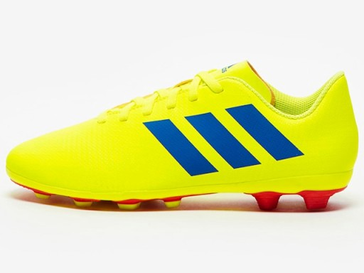 nowe przyloty buty do biegania sprzedawca detaliczny KORKI ADIDAS NEMEZIZ 18.4 CM8509 żółte 32 lanki