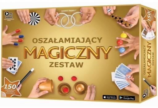 Hanky Panky Oszalamiajacy Magiczny Zestaw Sztuczek 8261022616 Allegro Pl