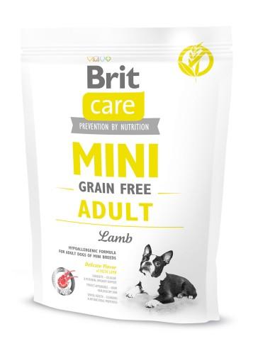 BRIT CARE MINI GRAIN FREE ADULT LAMB 400 g