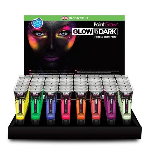 Paintglow Farby Do Twarzy Uv Swieca In Dark 8szt 7483074190 Allegro Pl
