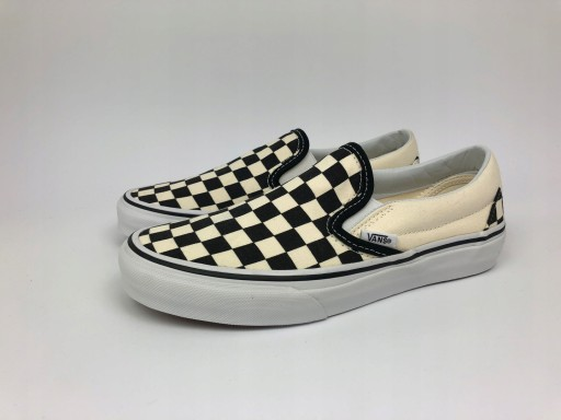 Buty VANS CLASSIC SLIP ON bw checkerboard 41