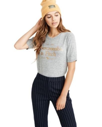 Abercrombie Hollister szara bluzka damska USA M