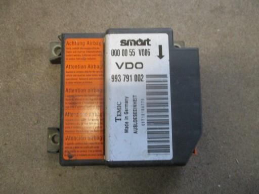 SMART FORTWO I SENSORIUS AIR BAG 0000055V006