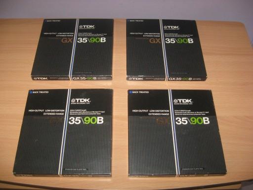 TDK TASMY SZPULOWE GX 35/90 B X 2 SZT 18 CM