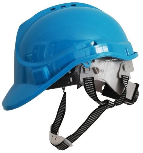 Kask Helm Budowlany Ochronny 4 Punktowy Niebieski 8921320453 Allegro Pl