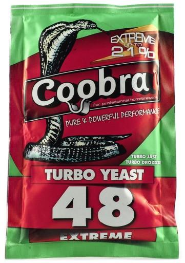 Drożdże Gorzelnicze COOBRA TURBO 48 pure bimber 21