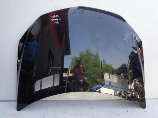 HAUBA POKLOPAC MOTORA MERCEDES ML W166 11- 16953
