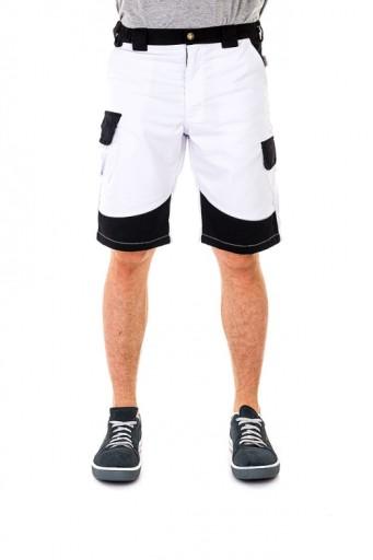 Spodnie Robocze Krotkie Jm Workwear Biale R52 8048943051 Allegro Pl