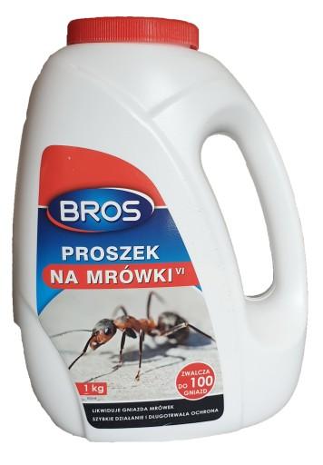 Bros Proszek Na Mrowki 1 Kg Srodek Trutka Preparat 7968325730 Allegro Pl