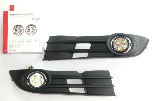 Lampy światła dzienne dziennej LED VW Touran 07 10
