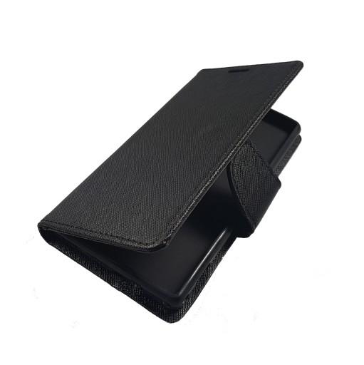 Sony Xperia M2 ETUI Futerał SMART FANCY Czarny