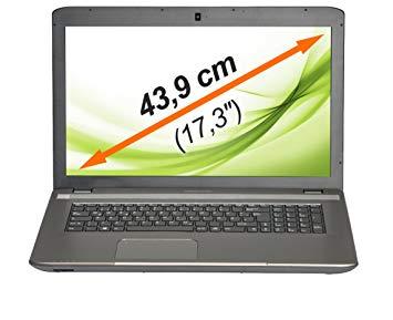 Laptop E7225 4x2,25GHz 4GB 1TB W10 HD+ 17,3
