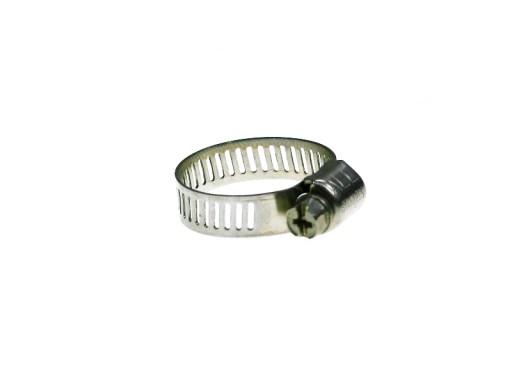CLAMP TAPE TERMINALS STAINLESS INOX 8-22mm