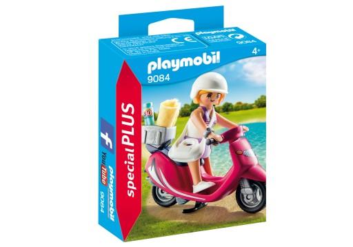 Playmobil 9084 Plażowiczka na skuterze