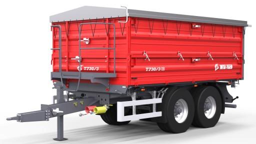 Przyczepa Rolnicza Metal Fach T730 2 10 Ton Tandem 8856926007 Allegro Pl