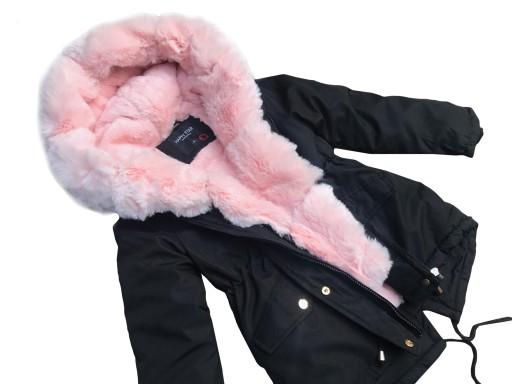 kurtka zimowa dziewczęca 134 allegro
