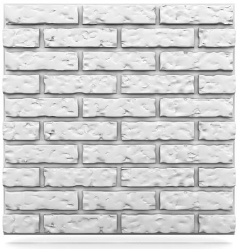 Panele Dekoracyjne ścienne 3d 60x60 Stara Cegła