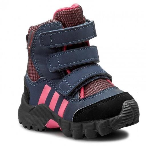 buty dziecięce zimowe śniegowce adidas r 25 BB1402