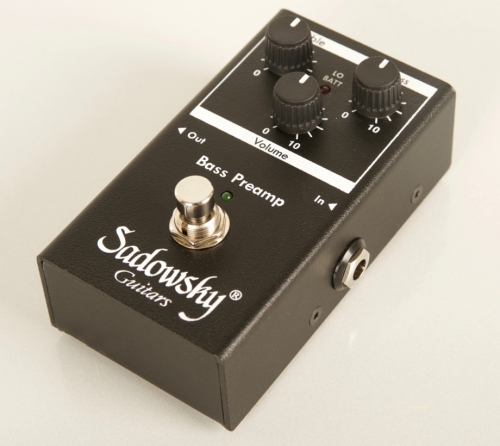 Efekt Sadowsky SBP-2 Bass Preamp od BASSWORLD