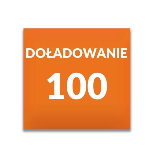 Doładowanie ORANGE 100 zł