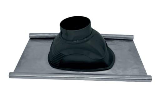 Przepust dachowy ołowiany 0-45° fi 125 - kominy PP