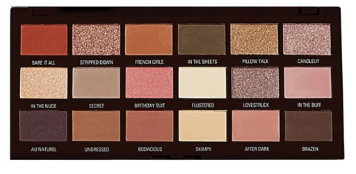 MakeUp Revolution Heart Chocolate Nudes Paleta