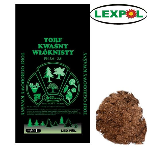 Torf Kwasny Wloknisty Borowka Ph 3 6 3 8 Warszawa 8241590813 Allegro Pl