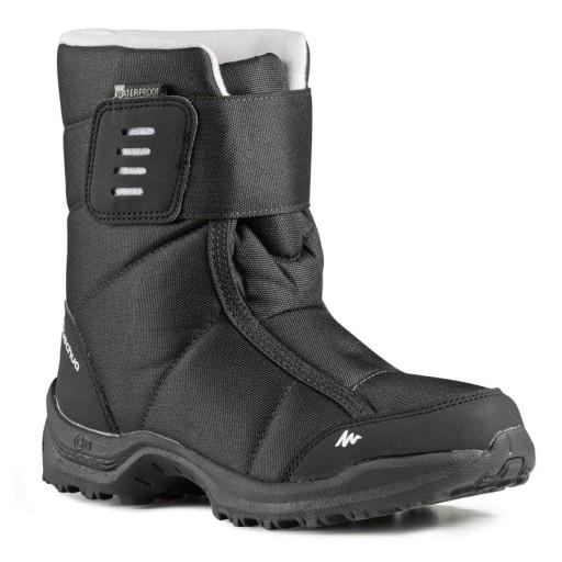 Buty Zimowe Sniegowce Damskie Membrana Quechua 38 8623251799 Allegro Pl