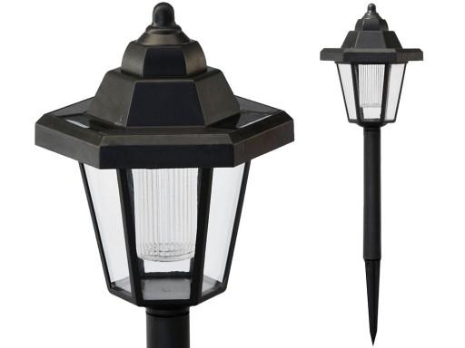 Aktualne Lampa solarna ogrodowa ozdoba 1 led LATARENKA 587 7831024194 KO26